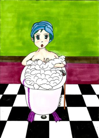 Bathroom by Nephara