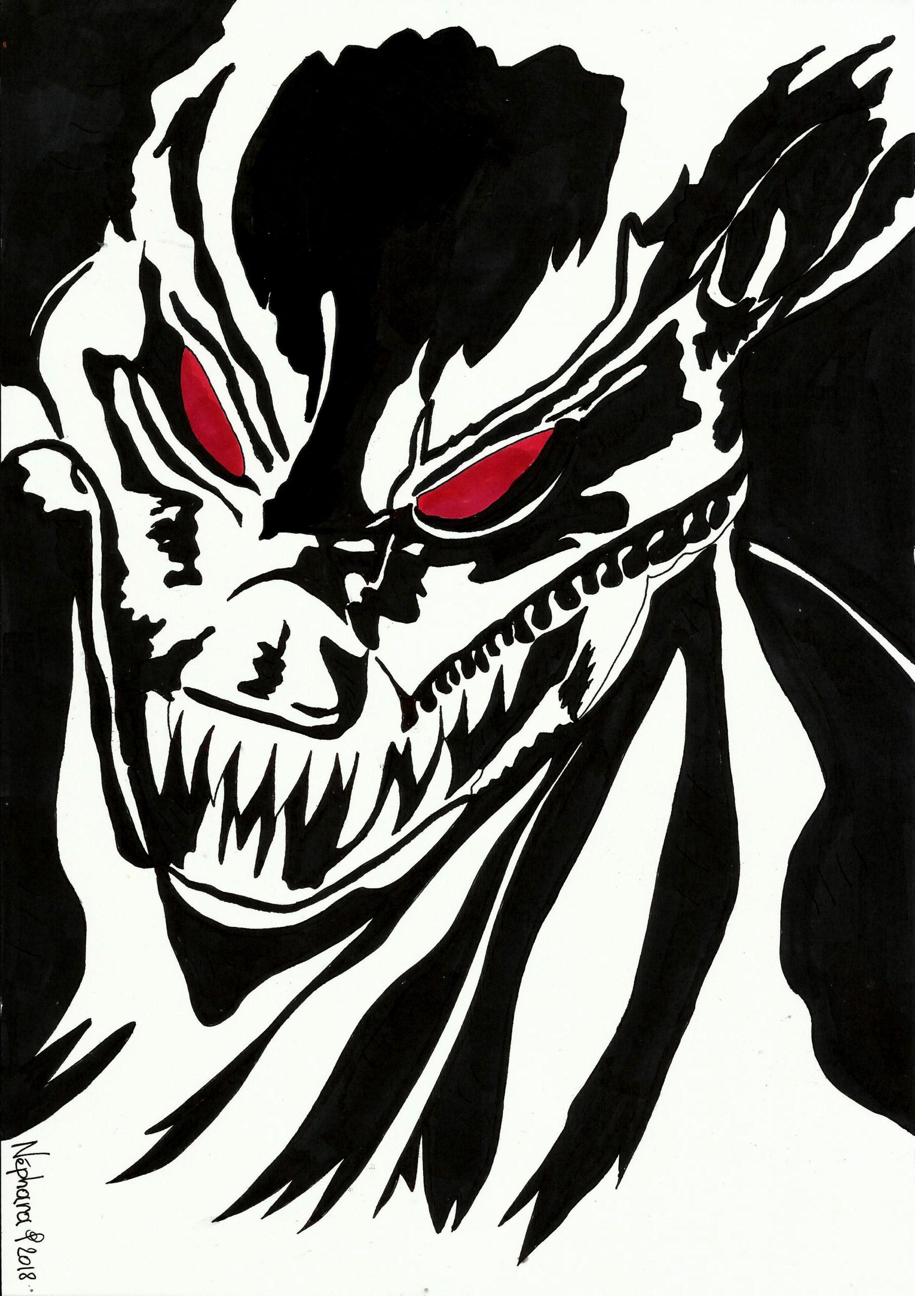 Dragon Face By Nephara