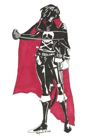 Captain Harlock 2 By Nephara