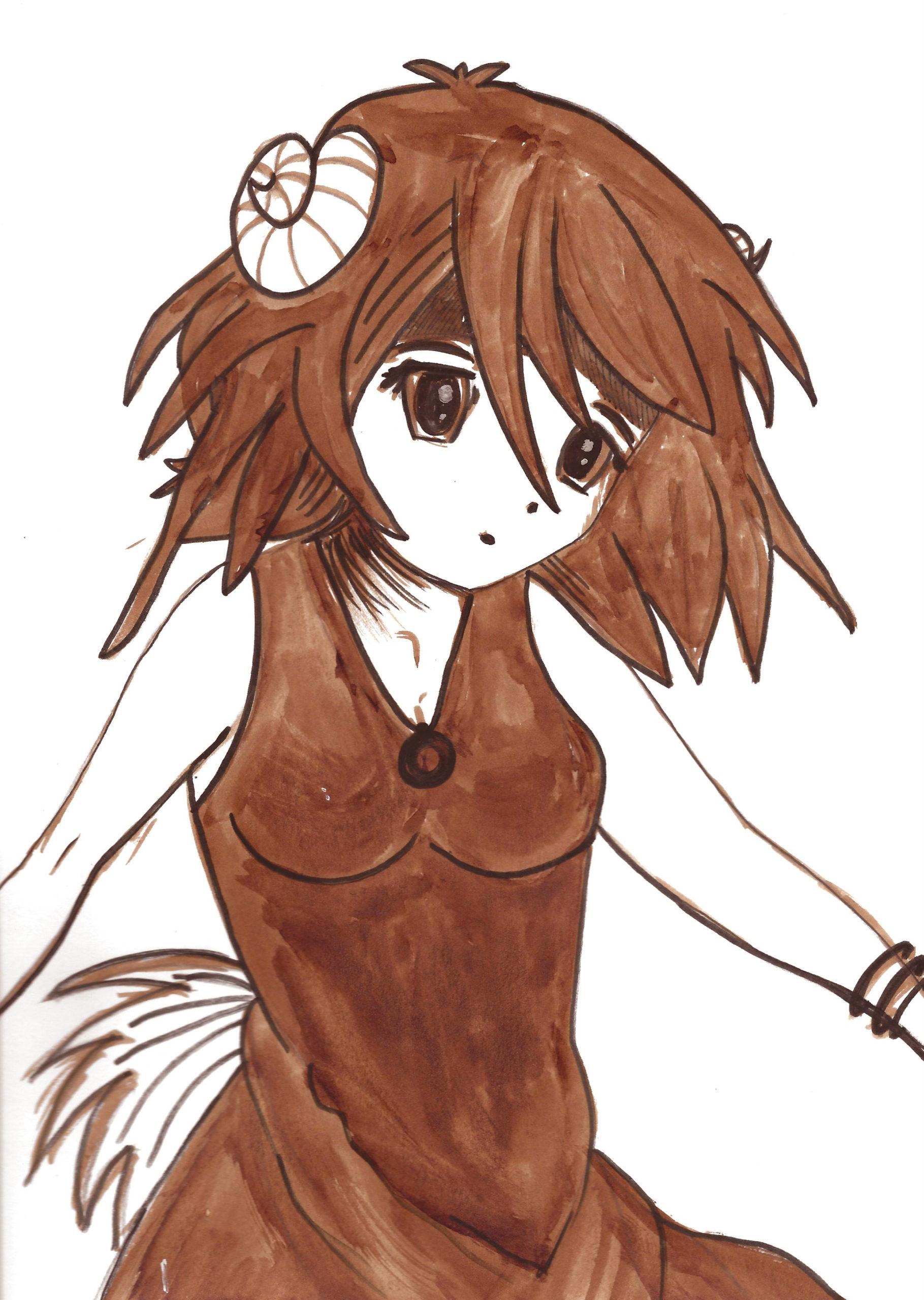 Sheep Girl By Nephara
