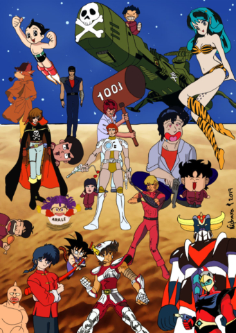 Fanart of Manga Inspirations By Nephara
