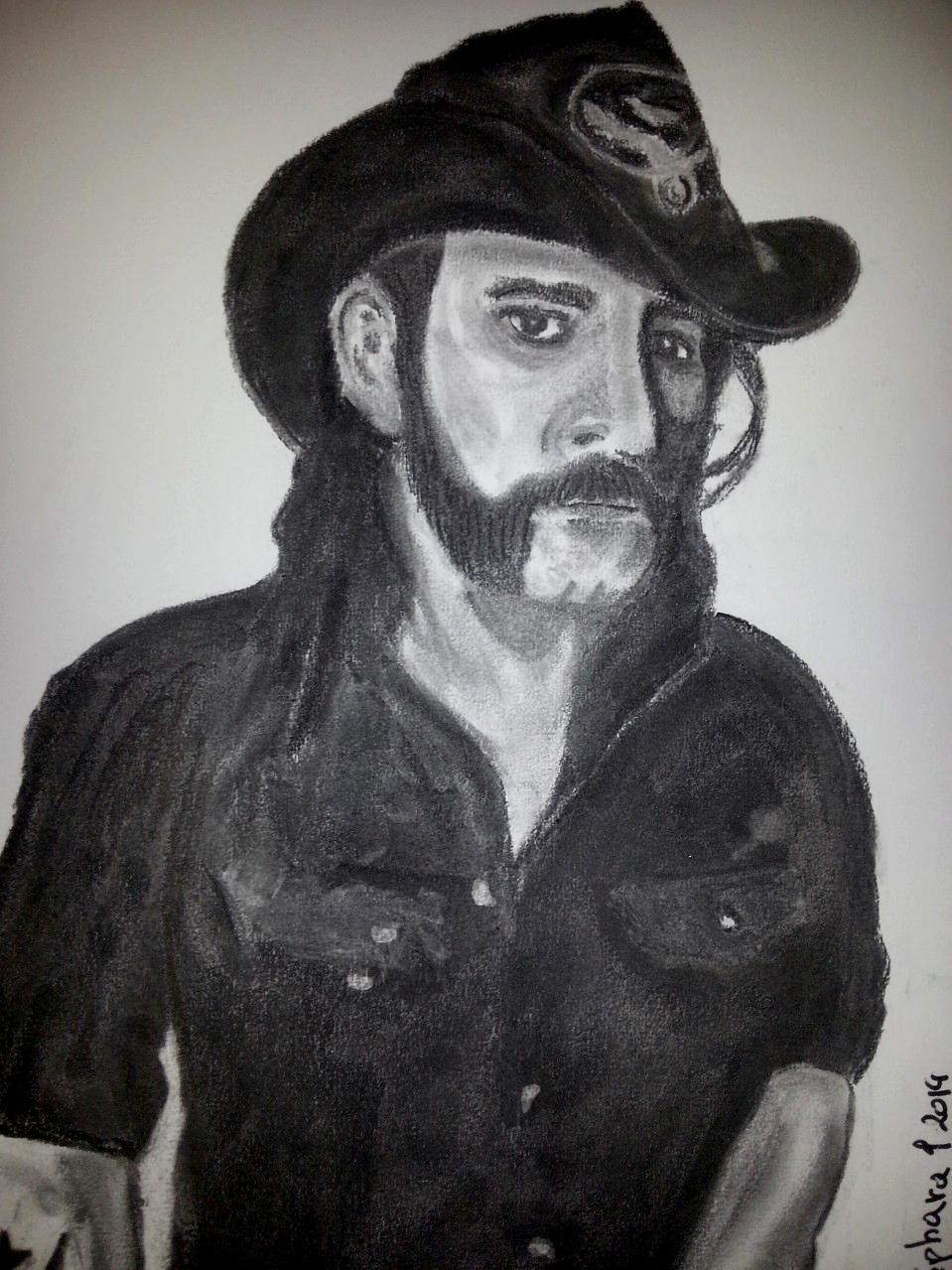 "Lemmy ""Motörhead"" Charcoal By Nephara 2014"