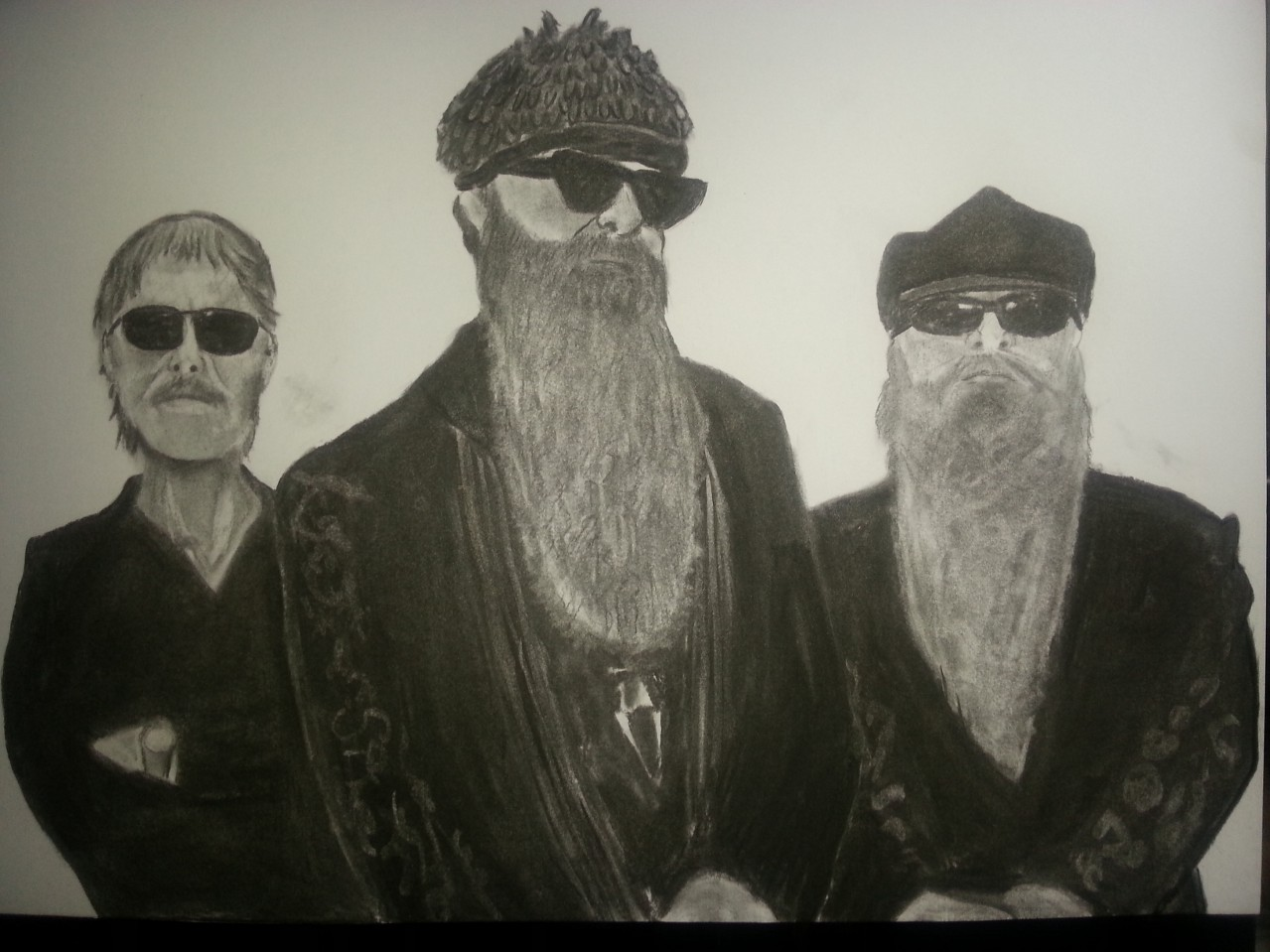 ZZ Top Charcoal By Nephara 2014