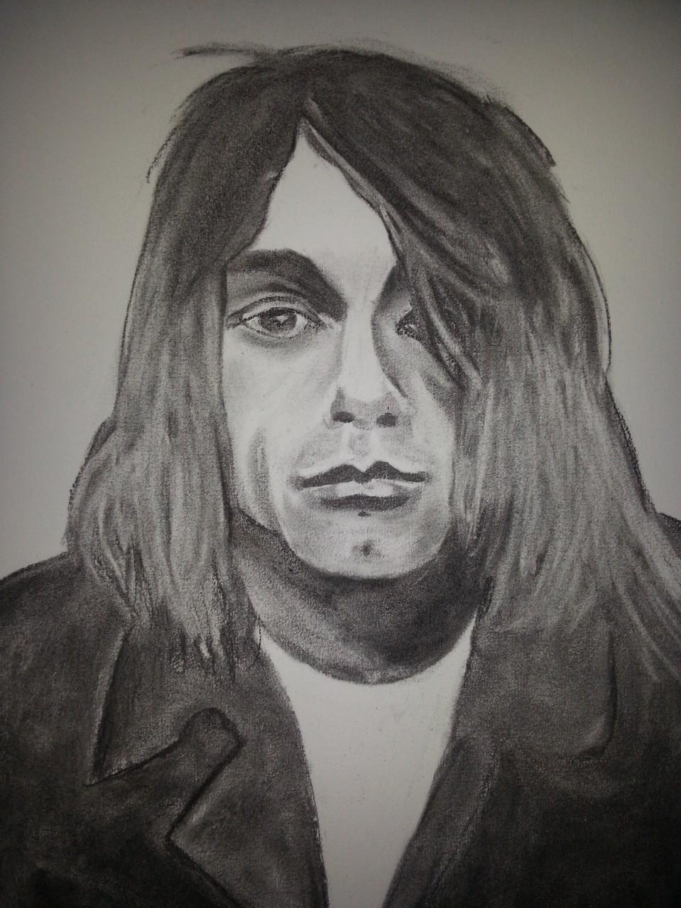 "Kurt Cobain ""Nirvana"" Charcoal By Nephara 2014"